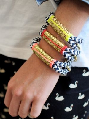 Love these bracelets from @The ROPES | Shana Aldrich Ready