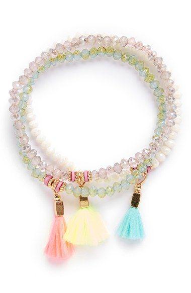 Bracelets Cara Couture Tassel Bracelets Set Of 3 Girls