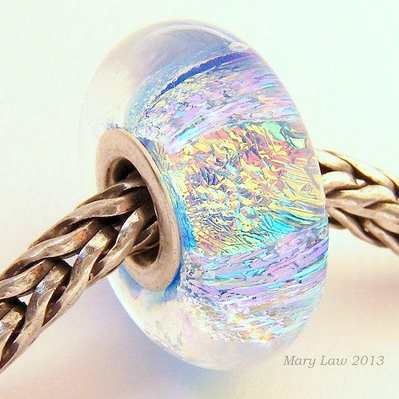 Bracelets Fire Sparkle Dichroic Bead