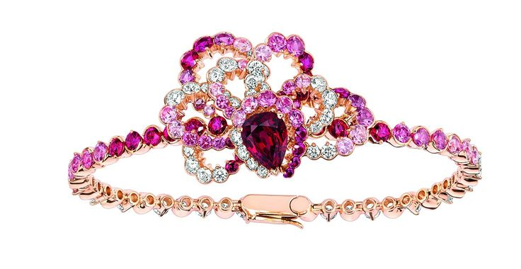 Rubellites bracelet by Dior