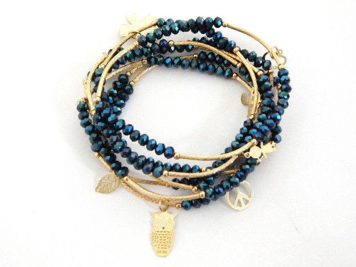 923af533ec07 Bracelets : Modelo: SCC2041 Hermosos Semanario de chapa de 14k con ...