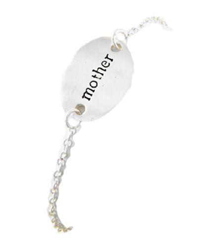 Mother Charm Bracelet D9 Silver Tone Mother 7.50 inch Lob... www.amazon.com/...