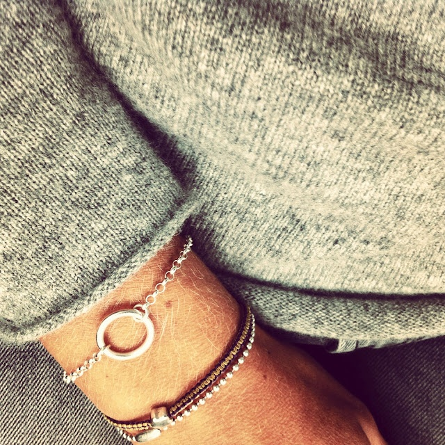 Today you inspired me | Bracelet by lilla u.
