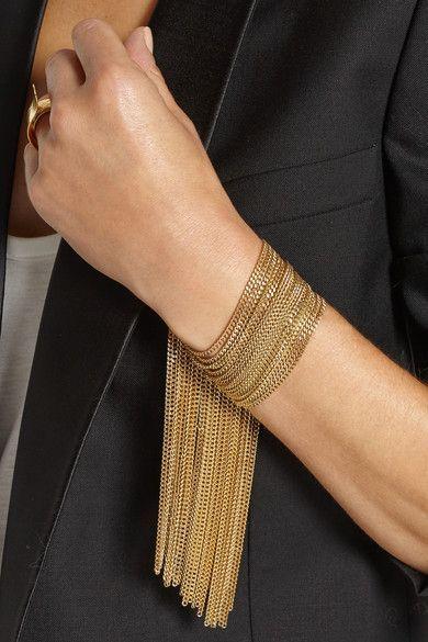 Chloé Delfine gold-tone chain bracelet
