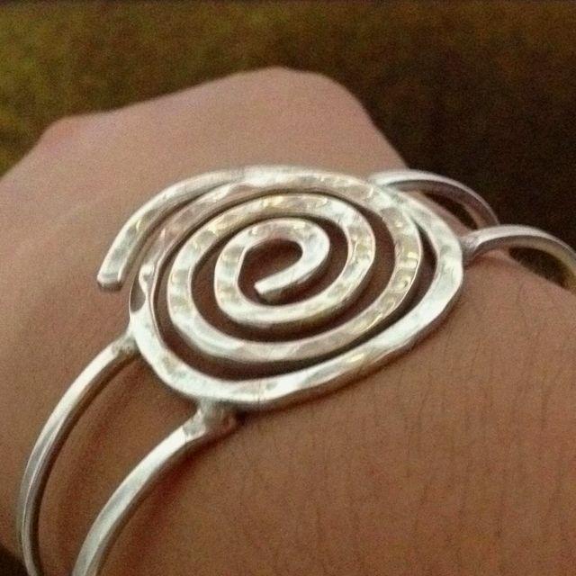Brazalete de Plata mexicana...Mexican silver bracelet