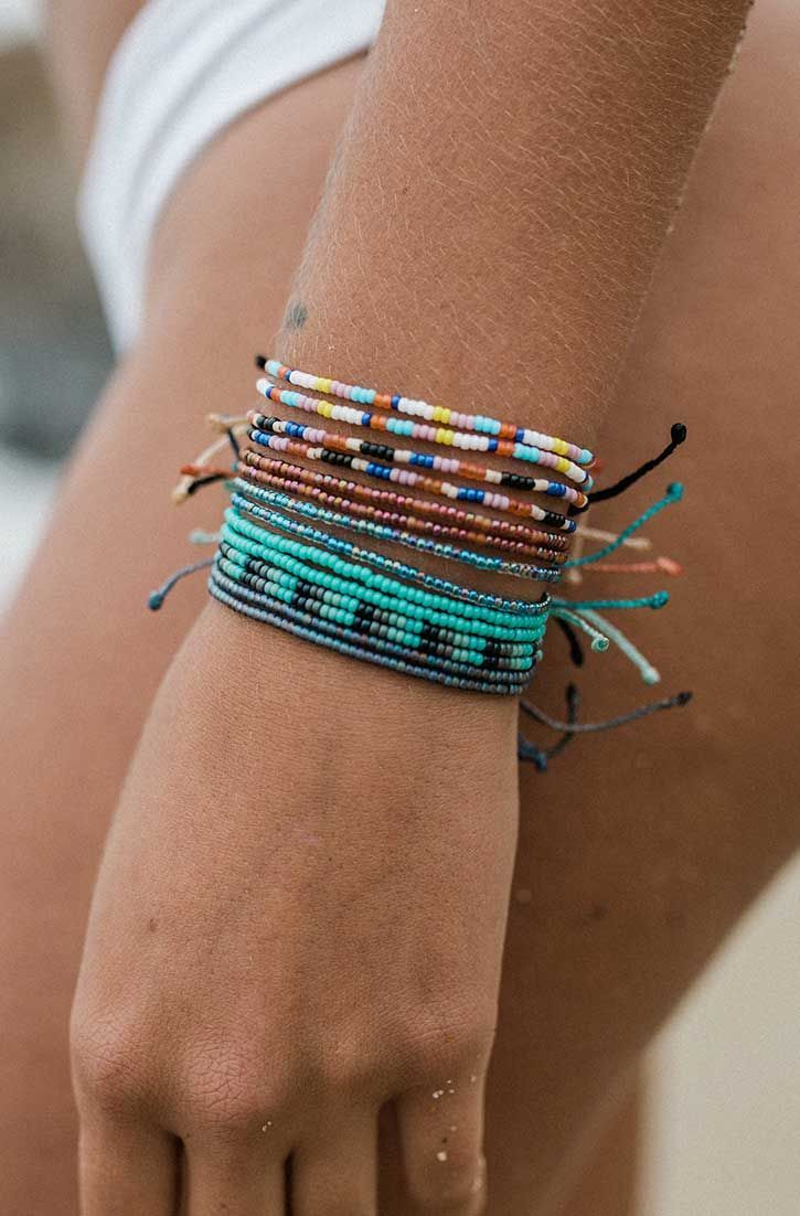 Bracelets Trends New Summer Seed Beads Pura Vida