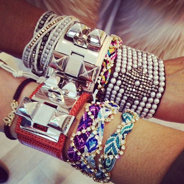 double arm party gorgeousness