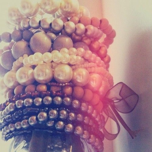 love pearls in all colors