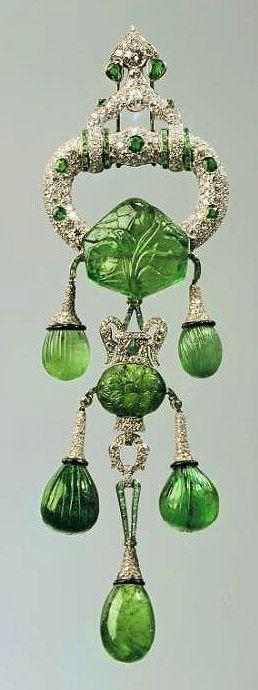 Cartier brooch for Marjorie Merriweather Post
