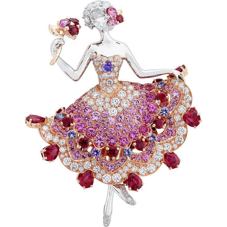 Van Cleef & Arpels Iolanta ballerina clip Find out more Iolanta ballerina clip b...