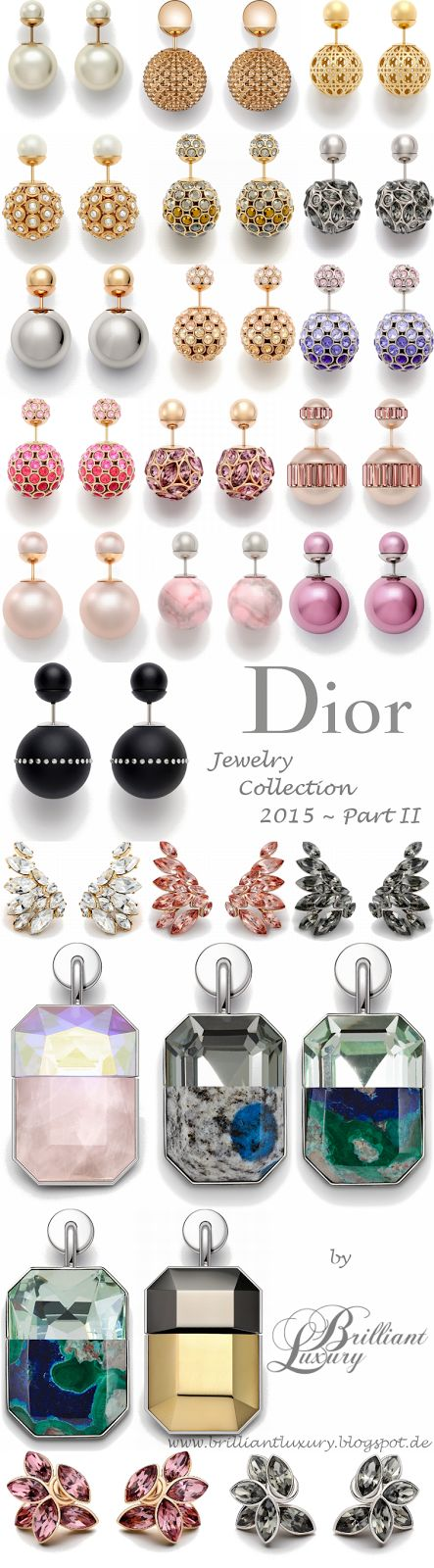 Brilliant Luxury * Dior Jewelry Collection 2015 ~ Part II