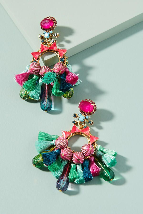 Clematis Drop Earrings |♦F&I♦