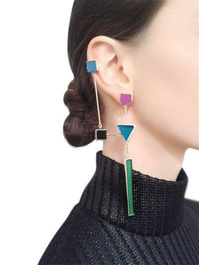 EARRINGS - SYLVIO GIARDINA - LUISAVIAROMA.COM - WOMEN'S FASHION JEWELRY - FALL W...