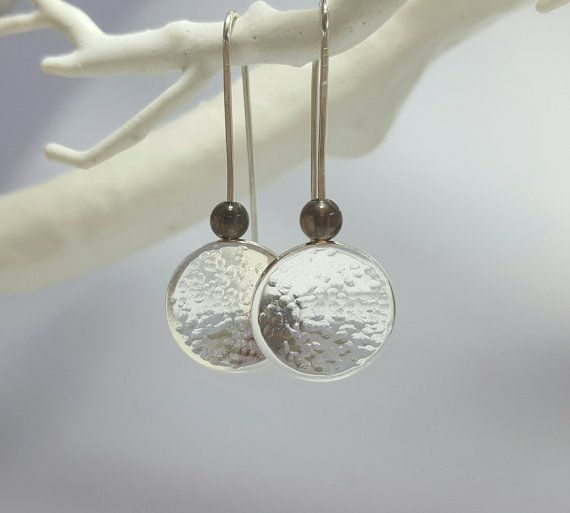 Handcrafted Sterling Silver 925 Textured by SilverbirdDesignsUK More