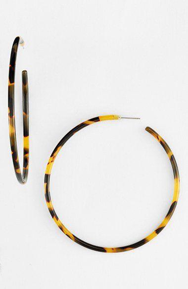 L Erickson 'Jumbo' Hoop Earrings | Nordstrom |♦F&I♦