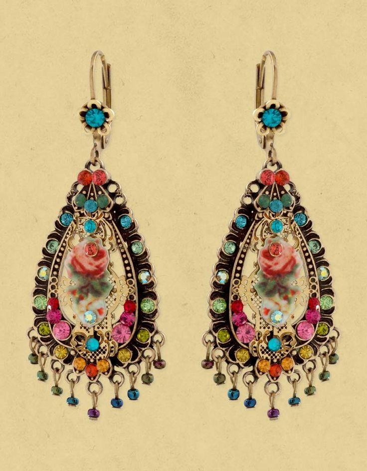 Michal Negrin earrings  |♦F&I♦