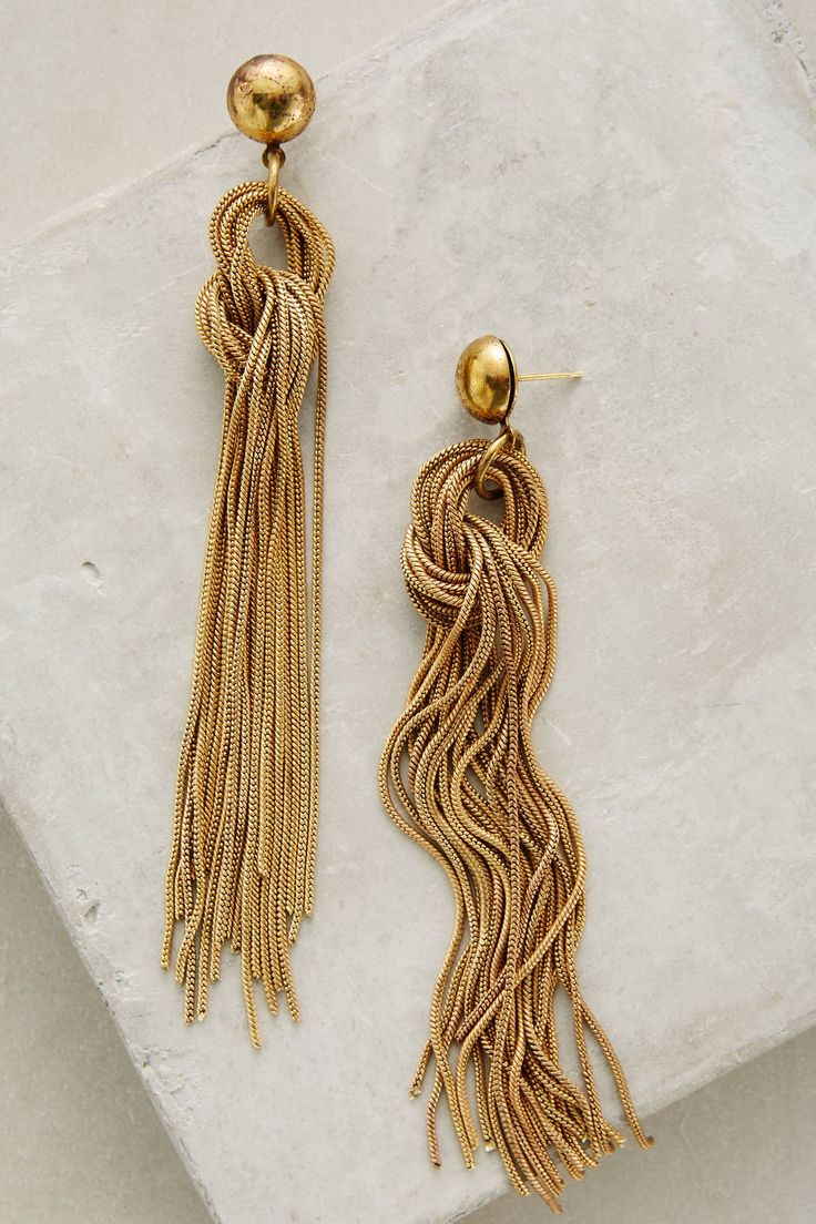 Rabo Fringe Earrings |♦F&I♦