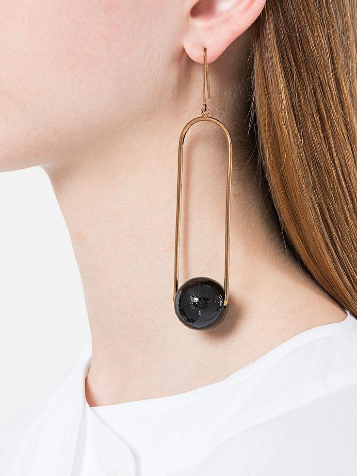 Stella McCartney suspended drop earring
