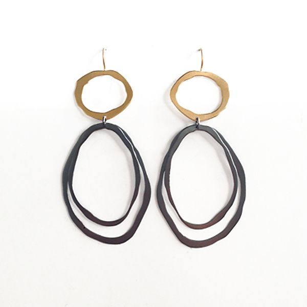 Thin+Fixed+Wire+Double+Drop+Earrings   |♦F&I♦