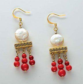 Treasures of the Deep Earrings - Beading  |♦F&I♦