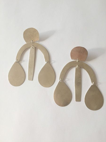 -hand-cut hammered shapes -satin gold finish or burnished silver finish -approxi...