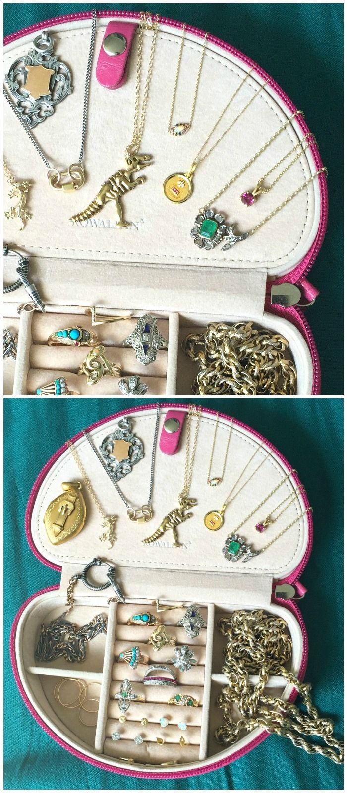 My #jewelryuniform - the daily favorites I reach for over and over in my own jew...