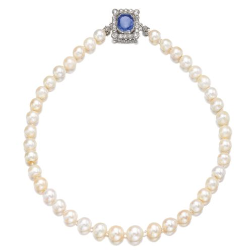 PROPERTY OF HIS HIGHNESS EDUARD OF ANHALT, DUKE OF SAXONY 'The Pearls of the...