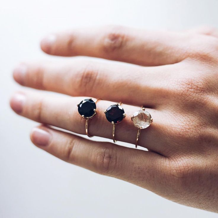 Designer Forum stores have the perfect stone rings available for Christmas, in g...