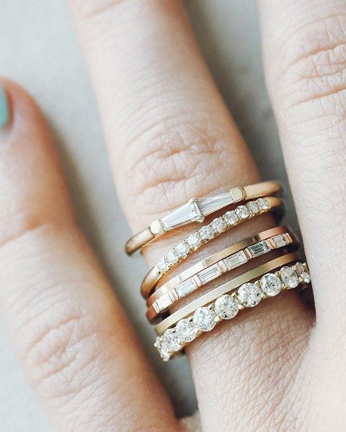 Individual show-stoppers — but better together. You might love wearing 1 (or 5...