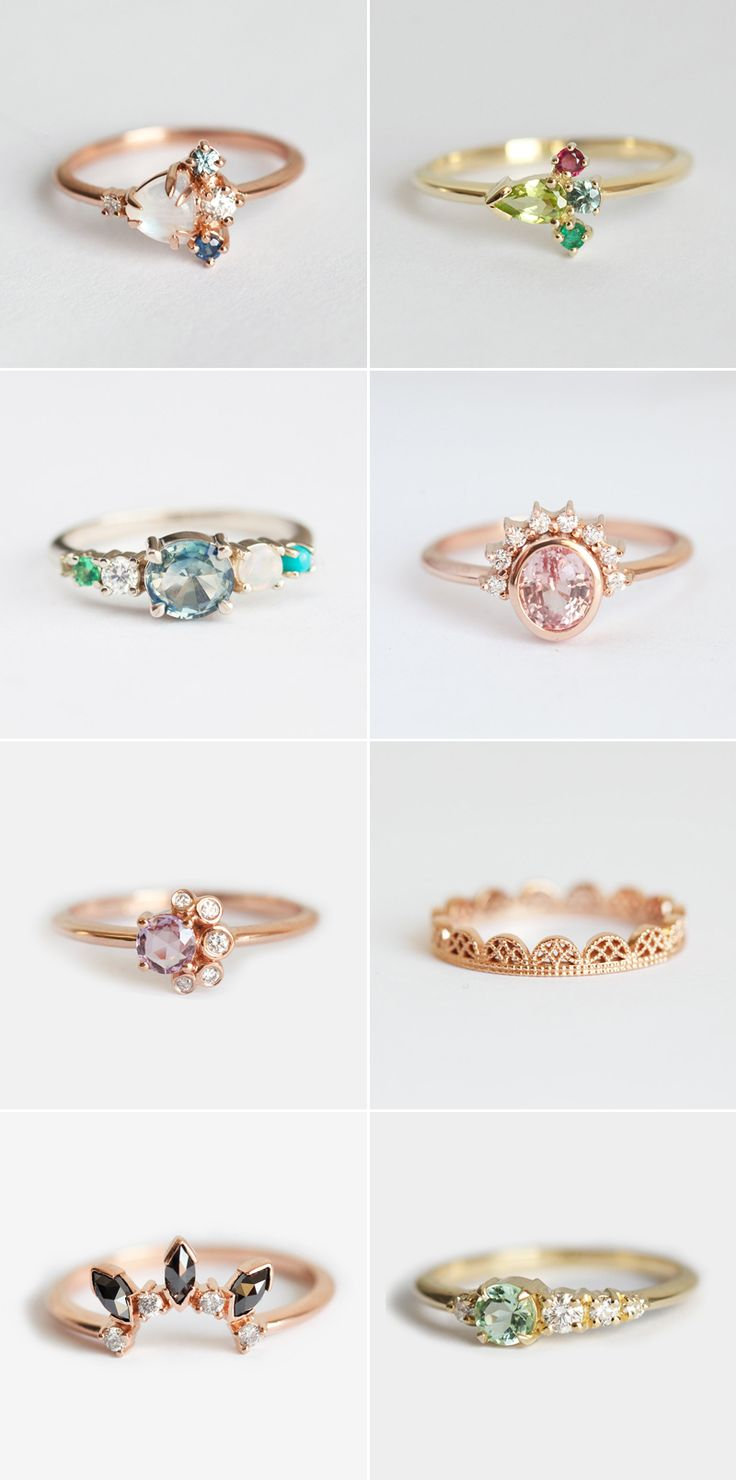 34 Gorgeous Alternative Engagement Rings You'll Want To Say Yes To!