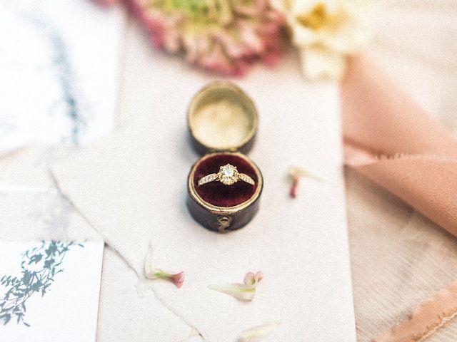 Atlanta, Georgia vineyard elopement wedding with a rich burgundy color palette a...