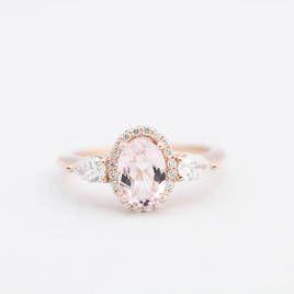 Morganite Engagement Ring - #ad -  #rings, #engaged