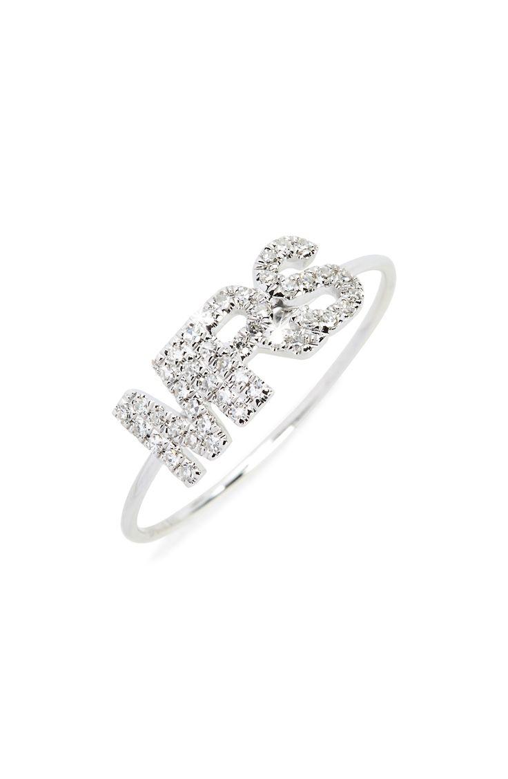 Mrs. Diamond Ring #affiliatelink