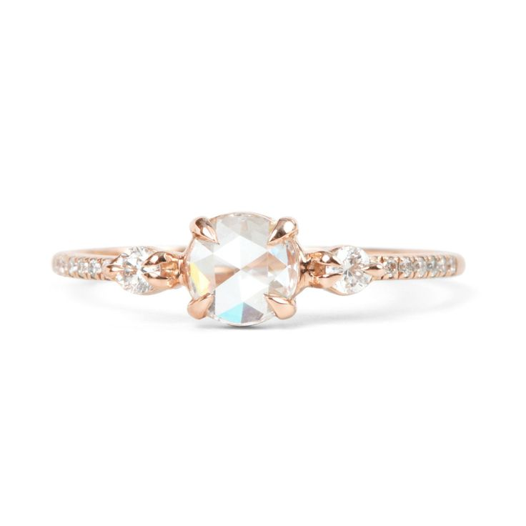 Odette the Swan by Catbird - unique and gorgeous engagement rings. #ring #engage...