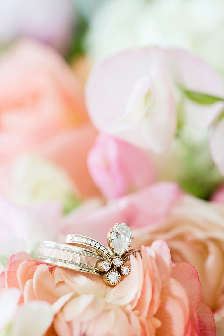 Rings Inspiration : Romantic Wedding Inspiration Featured On Midwest ...