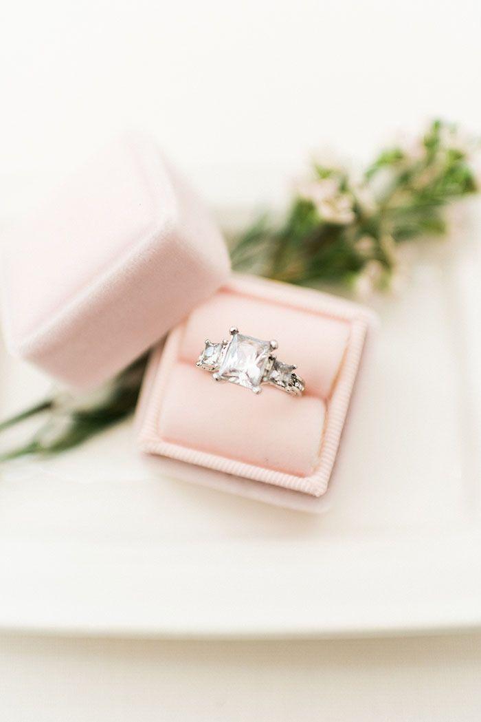 Three Stone Engagement Ring  heyweddinglady.co... #weddinginspiration #wedding #...