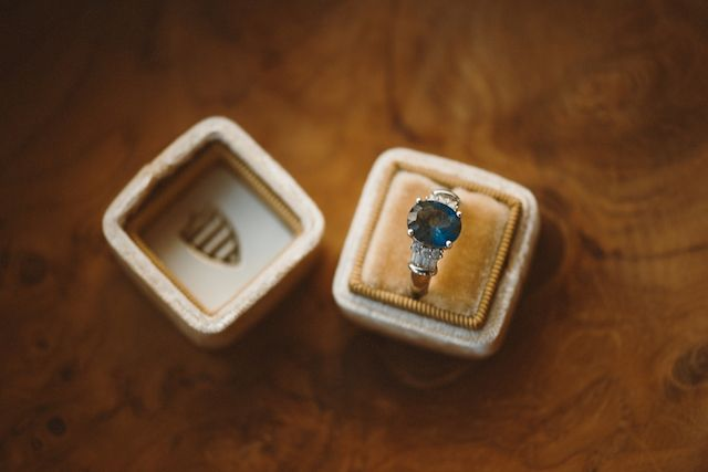 Vintage blue stone ring | Jessi Field Photography | see more on: burnettsboards....