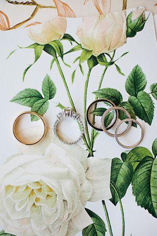Wedding rings | Kristyn Hogan Photography