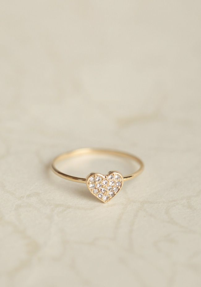 pretty little heart ring