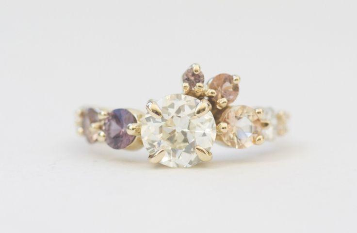 Diamond Cluster Rings | Mociun