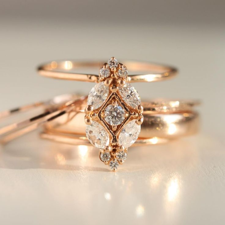Rose gold is warm and flush —what yellow gold would look like if it suddenly...