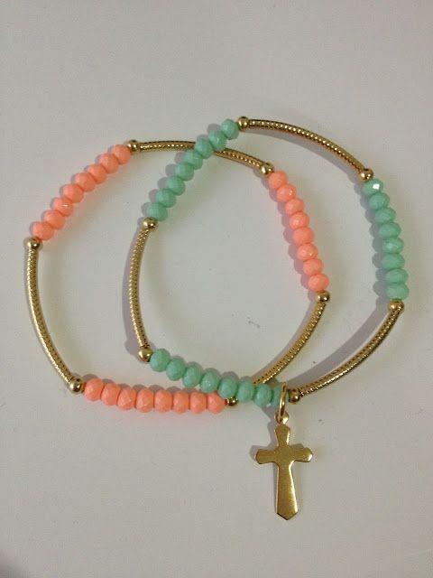 4c6f8e441 Bracelets   Bolos y recuerdos para Bautizo y Primera Comunion ...