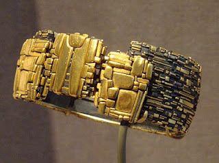 Bracelet by John Paul Miller.