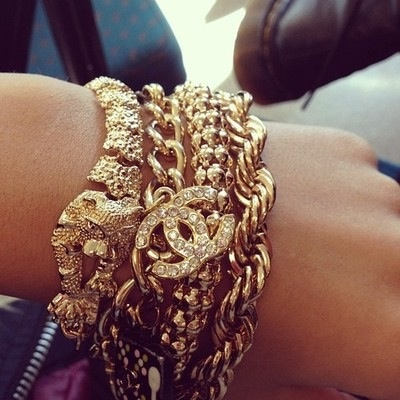 Gold and Glamour ♥