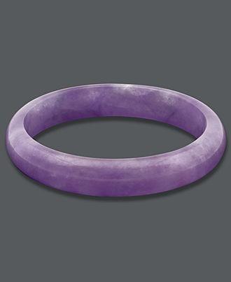 Lavender Bracelet, Purple Jade Bangle  i got one in hawaii but anthony destroyed...