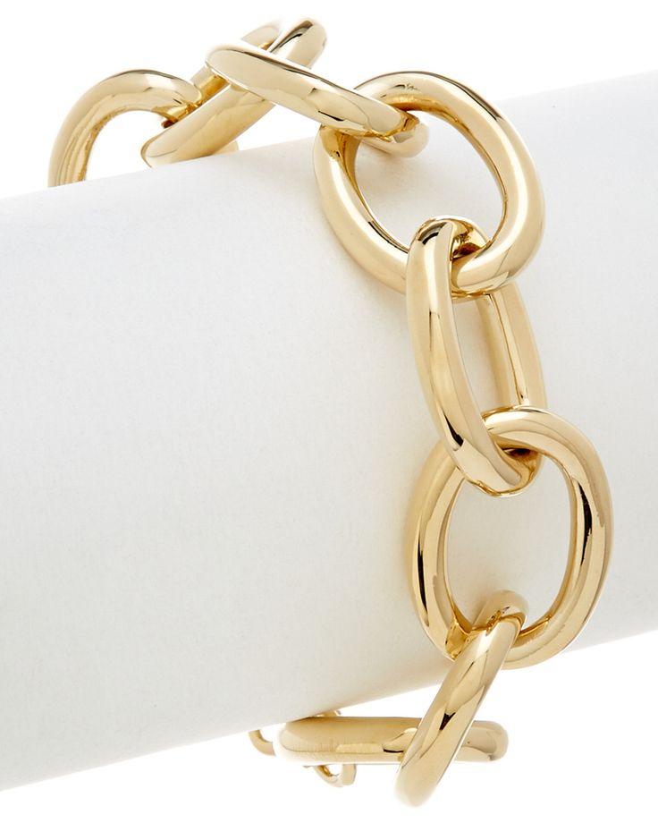 Rivka Friedman 18K Clad Link Bracelet is on Rue. Shop it now.