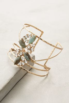 We are obsessed with this Anthropologie cuff!
