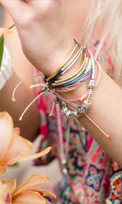 Metal Charms & Accessories from Pura Vida Bracelets