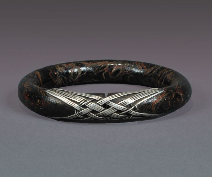 Root and silver bracelet.