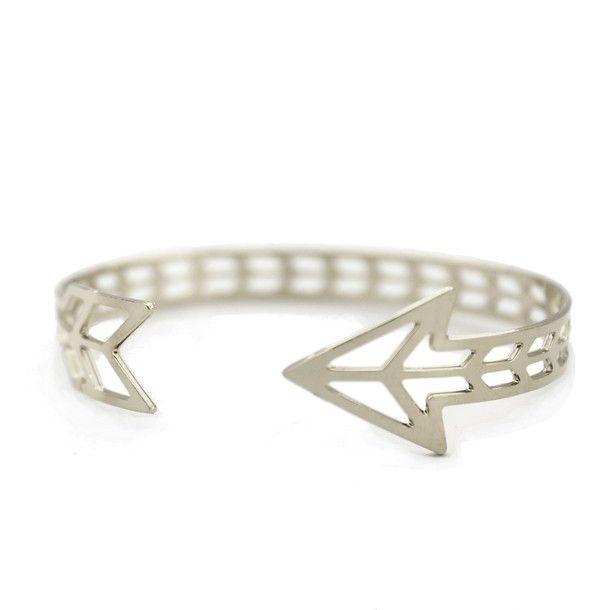 Arrow Cuff ♥ #silver